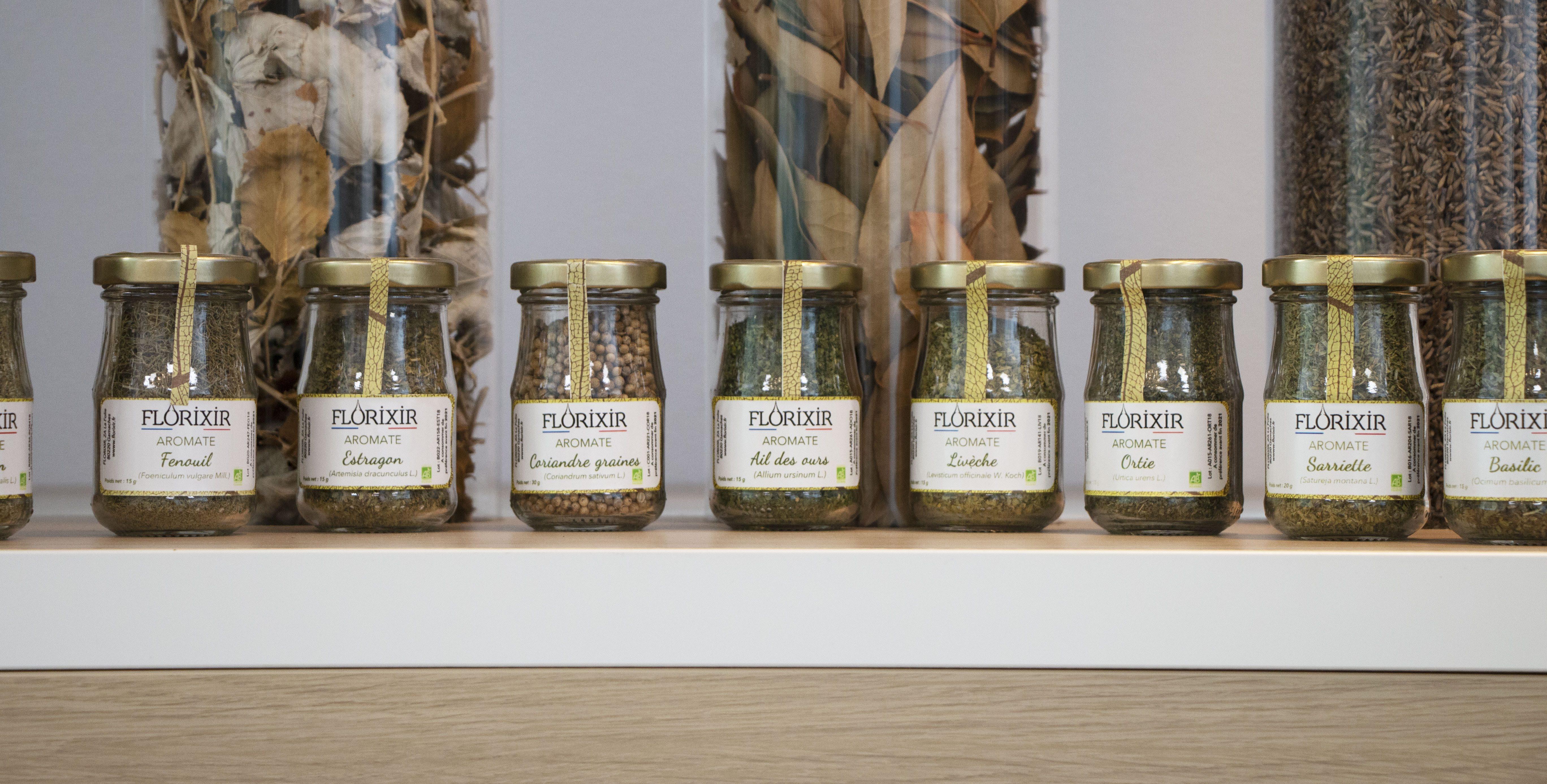 plantes aromatiques bio Florixir