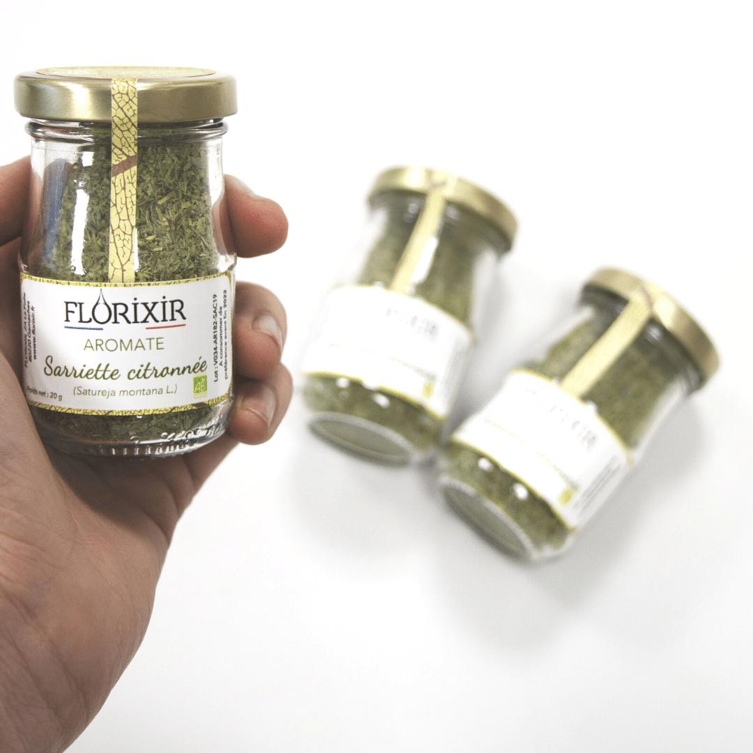 aromate bio sarriette citronnée florixir