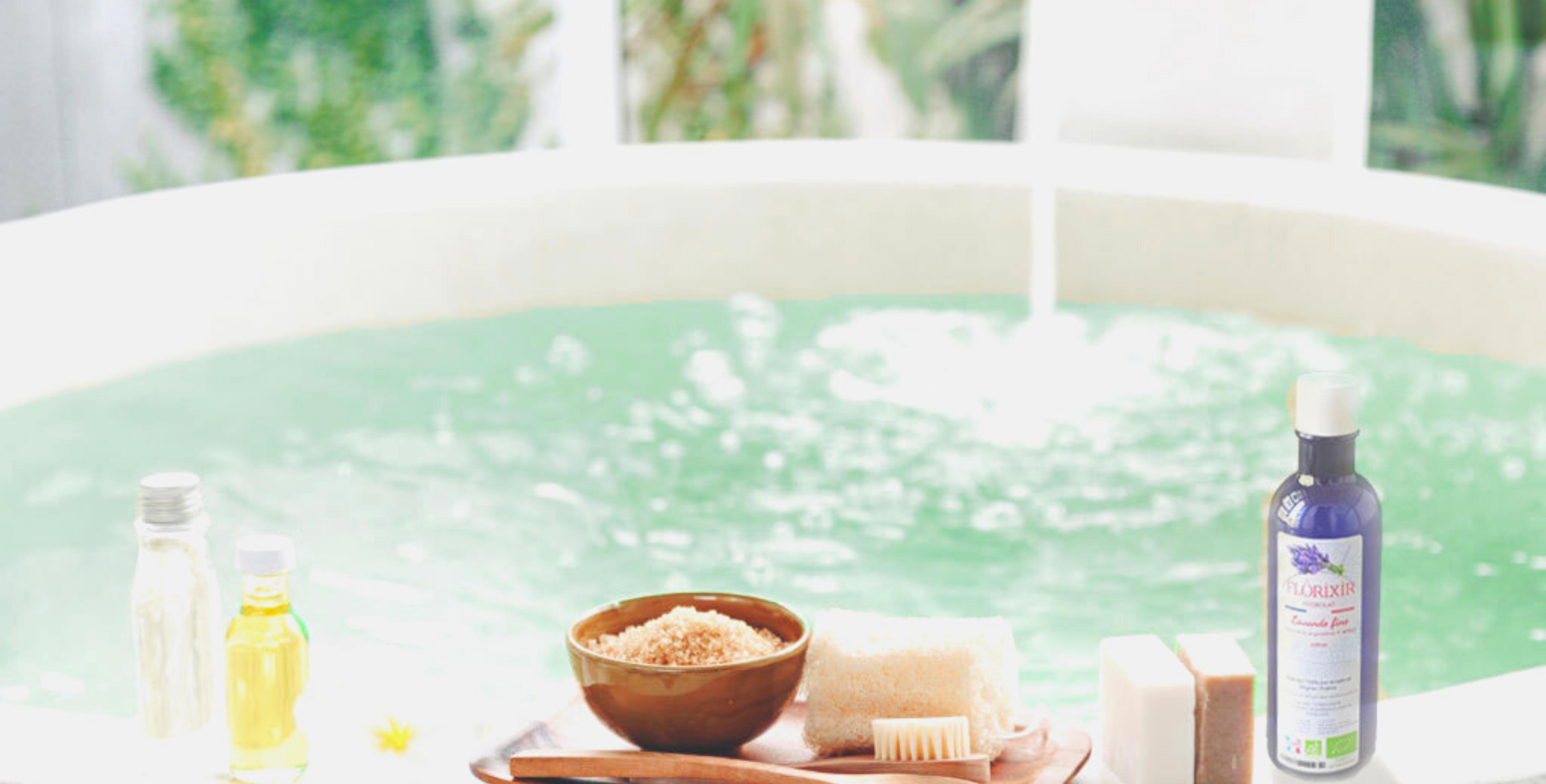 huiles essentielles relaxantes pour le bain