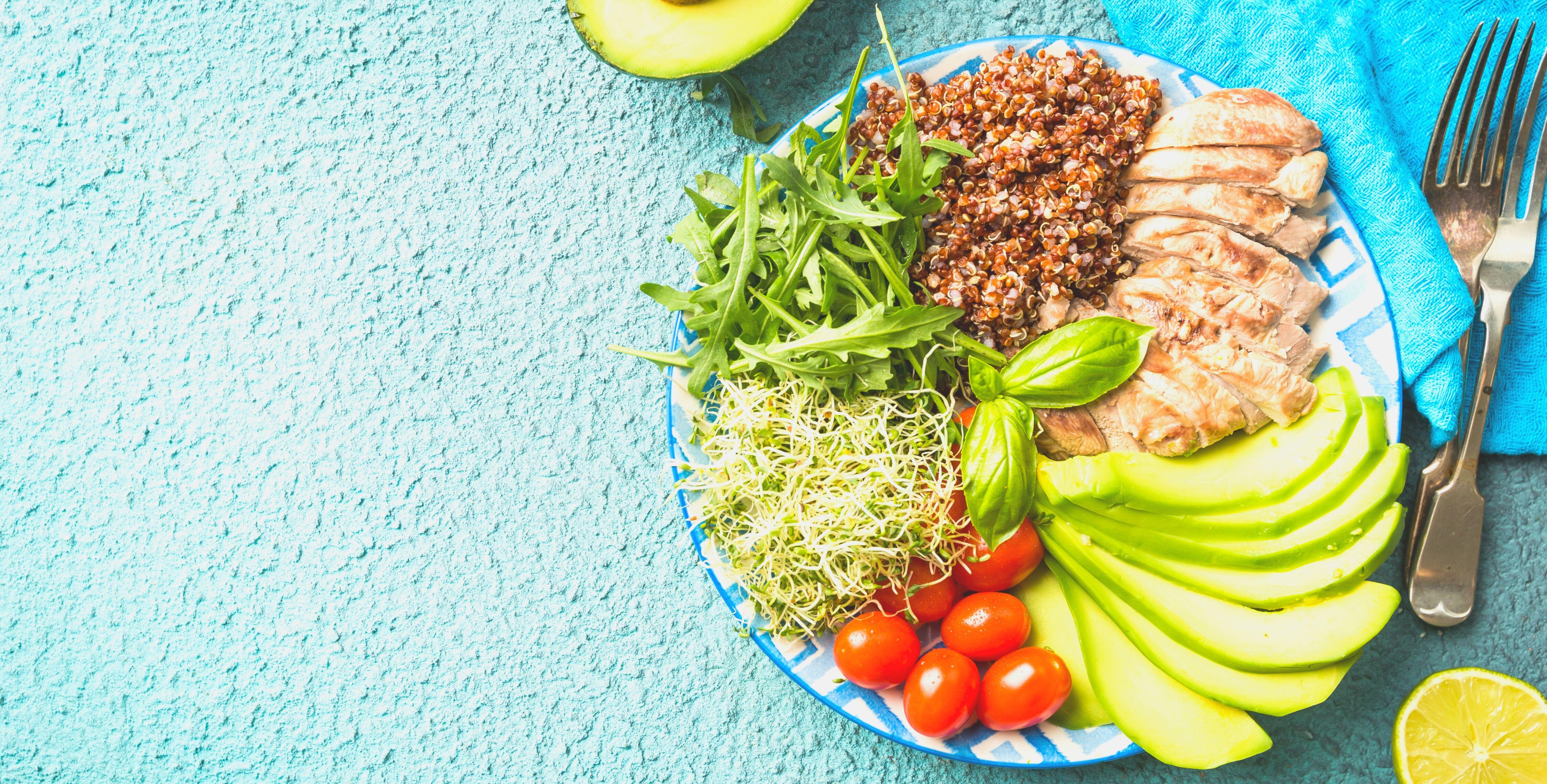 digestion difficile : alimentation équilibrée